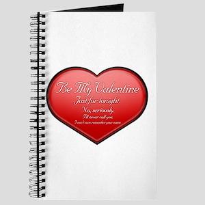 One Night Valentine Journal