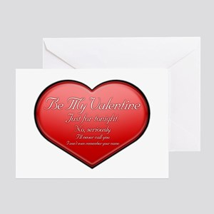 One Night Valentine Greeting Card