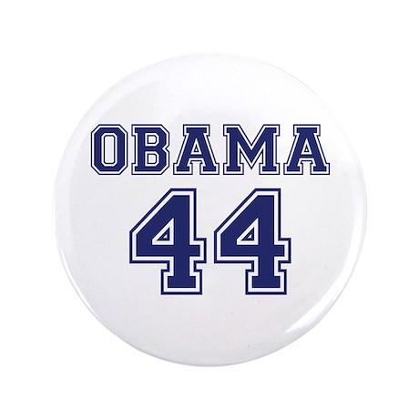 """""""Obama 44"""" 3.5"""" Button"""