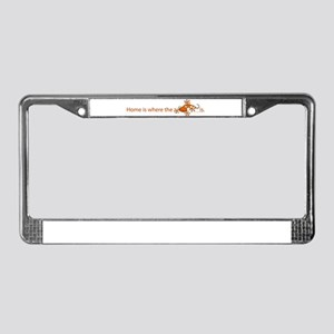 ..::Home is where::.. License Plate Frame
