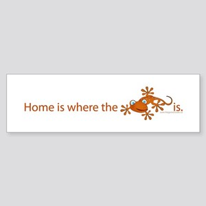 ..::Home is where::.. Bumper Sticker