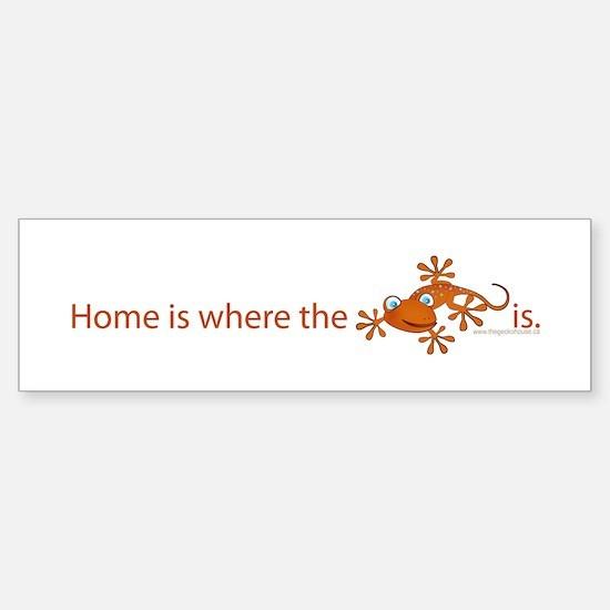 ..::Home is where::.. Bumper Bumper Bumper Sticker
