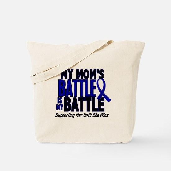 My Battle Too 1 BLUE (Mom) Tote Bag
