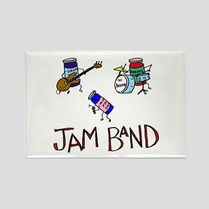 Jam Band Rectangle Magnet
