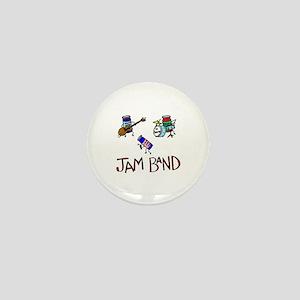 Jam Band Mini Button
