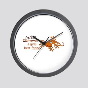 ..::Forget Diamonds::.. Wall Clock