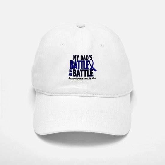 My Battle Too 1 BLUE (Dad) Baseball Baseball Cap