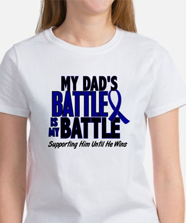 My Battle Too 1 BLUE (Dad) Women's T-Shirt