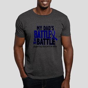 My Battle Too 1 BLUE (Dad) Dark T-Shirt