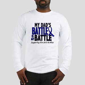 My Battle Too 1 BLUE (Dad) Long Sleeve T-Shirt
