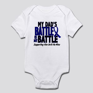 My Battle Too 1 BLUE (Dad) Infant Bodysuit