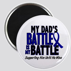 My Battle Too 1 BLUE (Dad) Magnet