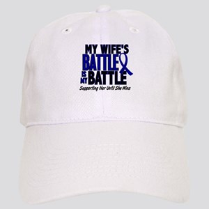 My Battle Too 1 BLUE (Wife) Cap