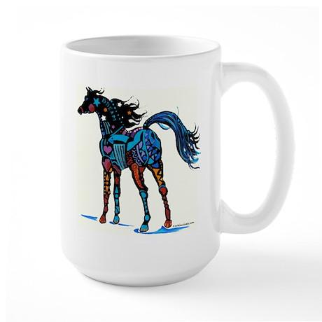 Arizona Horse Designz Large Mug