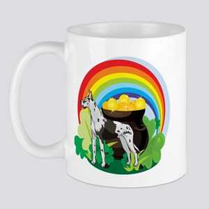 Great Dane St Patricks Day Mug