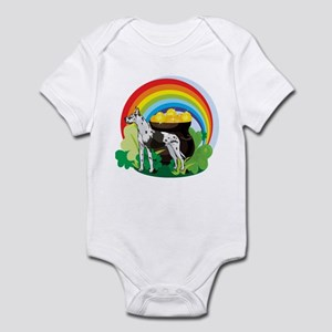 Great Dane St Patricks Day Infant Bodysuit