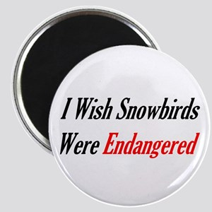 Snowbirds Endangered Magnet