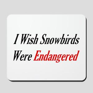 Snowbirds Endangered Mousepad
