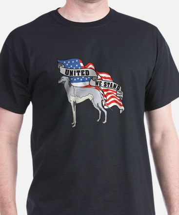 Greyhound American Flag T-Shirt