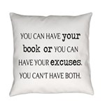 Writers Write Everyday Pillow Everyday Pillow