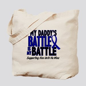 My Battle Too 1 BLUE (Daddy) Tote Bag