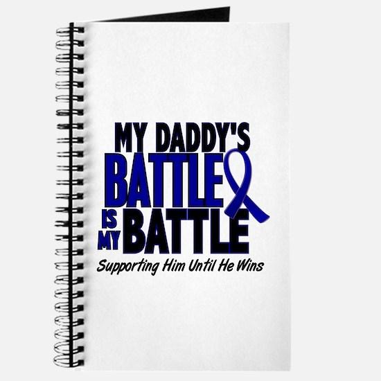 My Battle Too 1 BLUE (Daddy) Journal