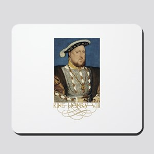 King Henry the Eight of England Mousepad