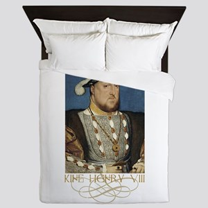 King Henry the Eight of England Queen Duvet