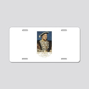 King Henry the Eight of Eng Aluminum License Plate