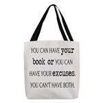 Writers Write Excuses Polyester Tote Bag
