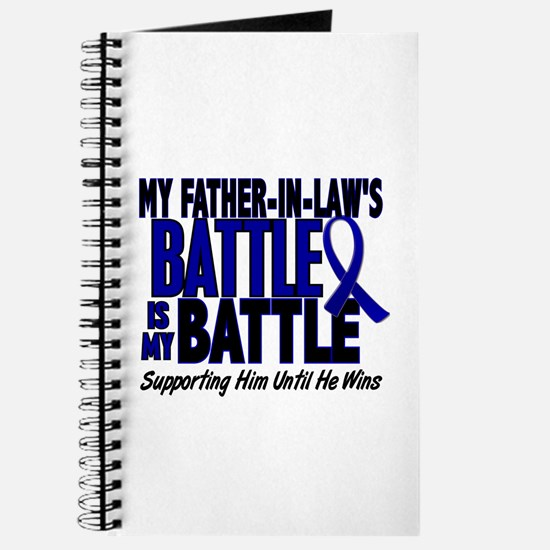 My Battle Too 1 BLUE (Father-In-Law) Journal