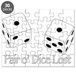 Pair O' Dice Lost Puzzle