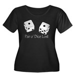 Pair O' Dice Lost Plus Size T-Shirt