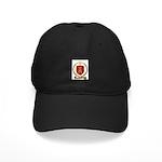 LASALLE Family Crest Black Cap