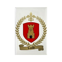 LASALLE Family Crest Rectangle Magnet