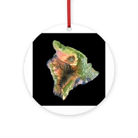 Big Island Ornament (Round)