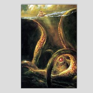 Watching Kraken Postcards (Package of 8)
