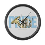 French Horn PRIDE Large Wall Clock