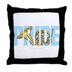 French Horn PRIDE Throw Pillow