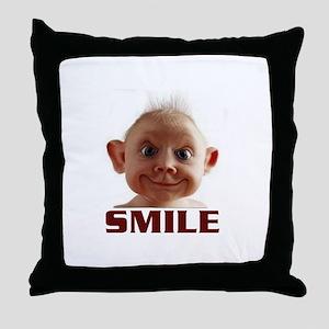CUTER THAN YOU Throw Pillow