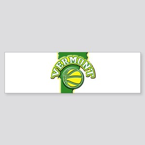 Vermont Basketball Bumper Sticker