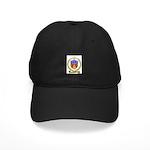 LANOUE Family Crest Black Cap