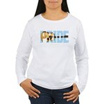 Guitar Pride Women's Long Sleeve T-Shirt