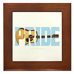 Guitar Pride Framed Tile