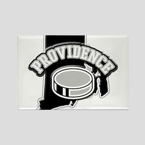 Providence Hockey Rectangle Magnet