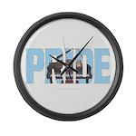 Piano PRIDE Large Wall Clock