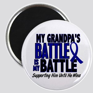 My Battle Too 1 BLUE (Grandpa) Magnet