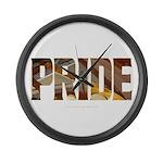 Piano Pride 2 Large Wall Clock