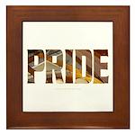 Piano Pride 2 Framed Tile