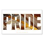 Piano Pride 2 Rectangle Sticker
